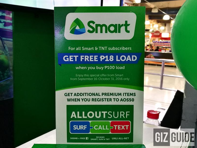 Get FREE 18 Pesos load!