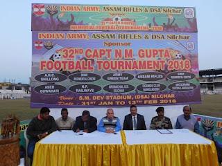 CAPTAIN N M GUPTA TROPHY FOOTBALL TOURNAMENT