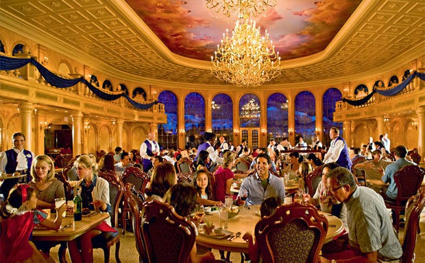 Planos de refeições do Dining Plan da Disney