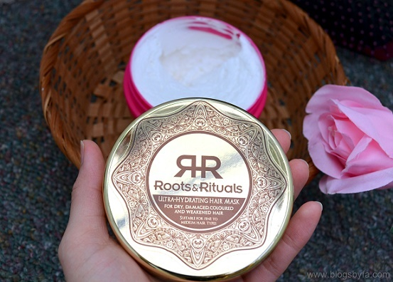 roots and rituals hair mask