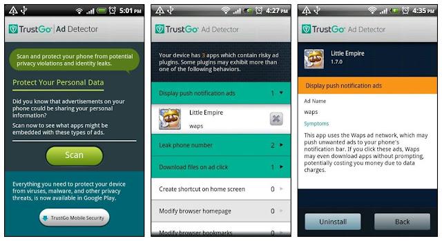 TrustGo Ad Detector - Aplikasi Blokir Iklan Terbaik untuk Android