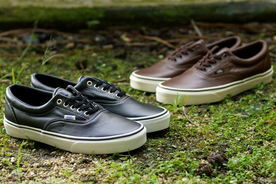 premium selection 9ac18 6f0f2 Vans Era - Aged Leather Pack