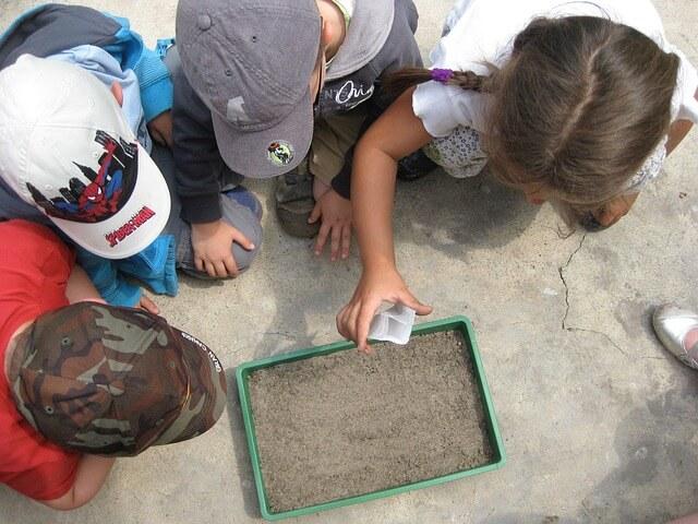 educ. ambiental. desde pequeños aprendemos a respetar el ambiente