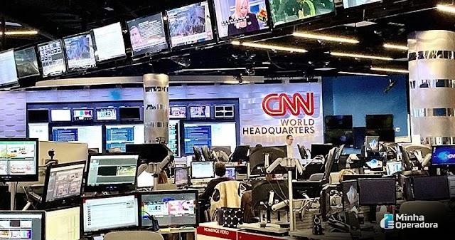 CNN Brasil garantida em mais uma operadora de TV paga