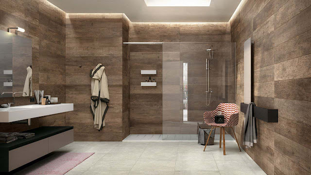 Good Looking Designs Ceramic Tile Ideas For Small Bathrooms Wood Look Ceramic Tile Bathroom Idea Mirage Wall Pictures