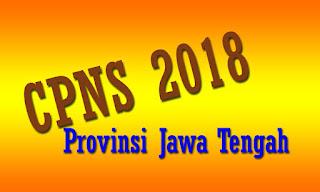 Inilah Formasi Lowongan CPNS 2018 Provinsi Jawa Tengah