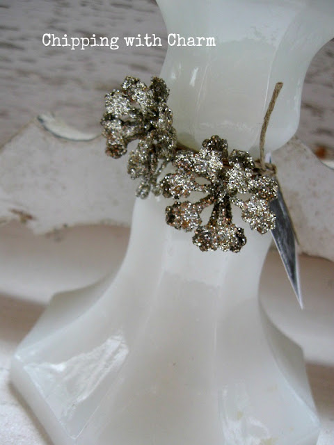 Chipping with Charm: Candle Stick Holder Angel...www.chippingwithcharm.blogspot.com