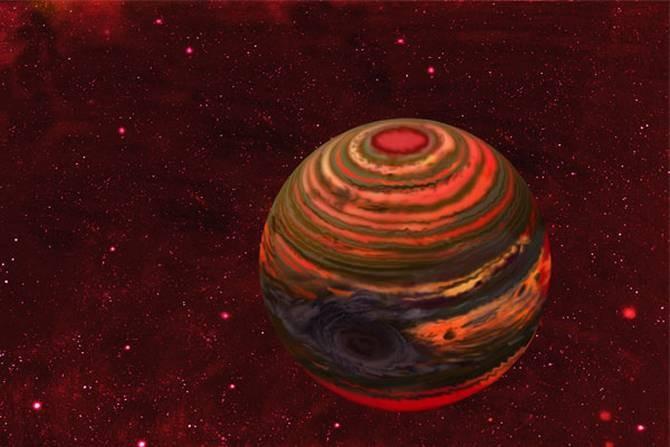 Una enana marrón, el último paso antes de que una estrella se vuelva agujero negro