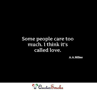 A.A.Milne Love Quote