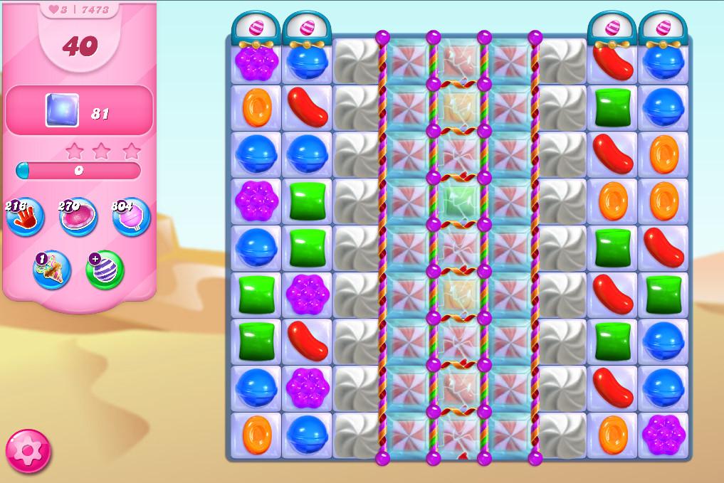 Candy Crush Saga level 7473