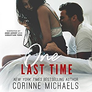 Currently Listening To: One Last Time by Corinne Michaels