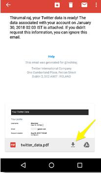 Cara Mengambil Cadangan Akun Twitter dan Facebook Anda di Android, 7