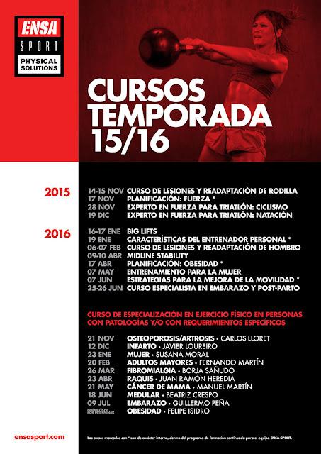 CURSOS TEMPORADA