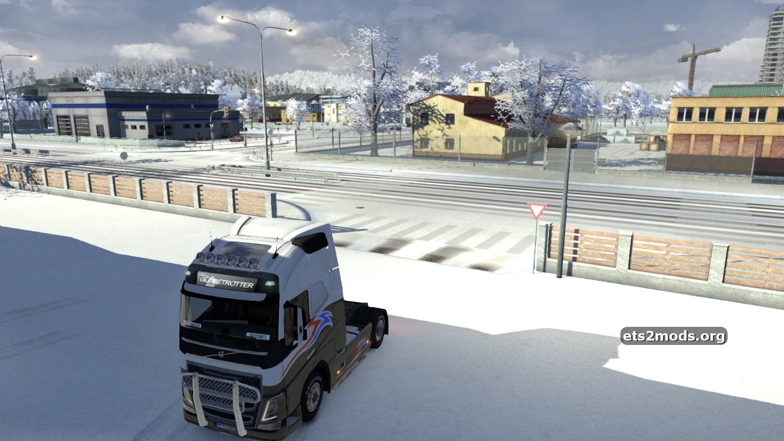 ETS 2 Winter Mod