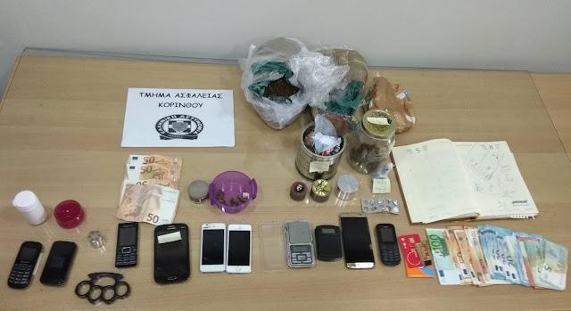 Εξαρθρώθηκε εγκληματική ομάδα διακίνησης ναρκωτικών στην Κορινθία