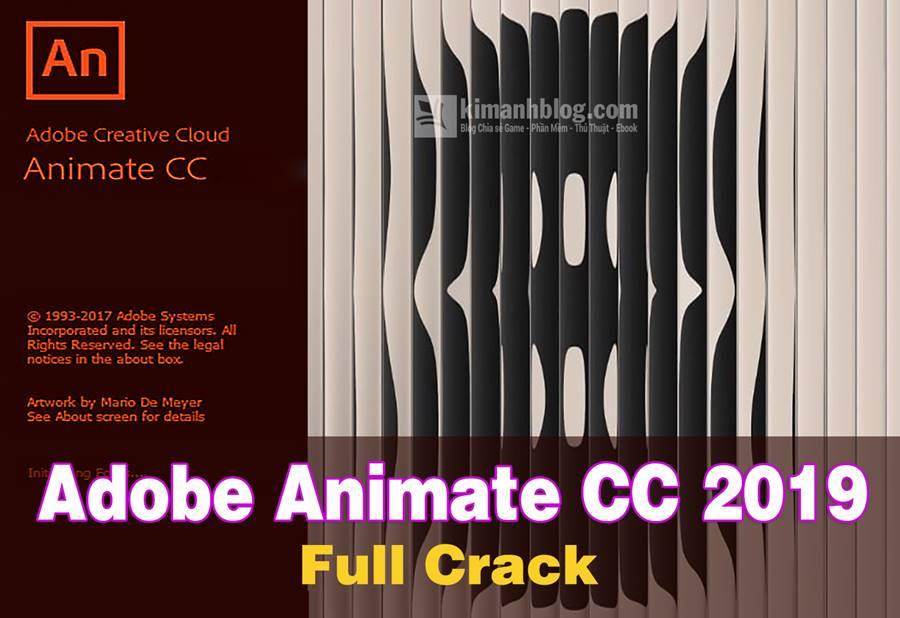 Download Adobe Animate CC 2019 full crack mới nhất | Phần