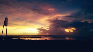 Sunset Pantai Jayanti
