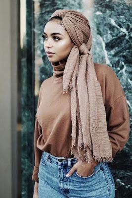 Cewek hijab dan jilbab tegar dari meksiko