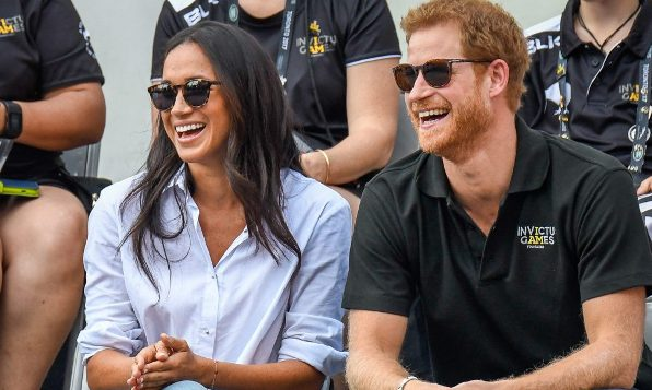 """Prince Harry speaks about how Meghan Markle is """"loving"""" the Invictus Games"""