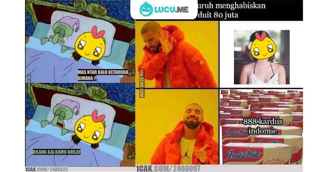 15 Meme 'Rp 80 juta' Ini Kocaknya Bikin Ngakak Seharian