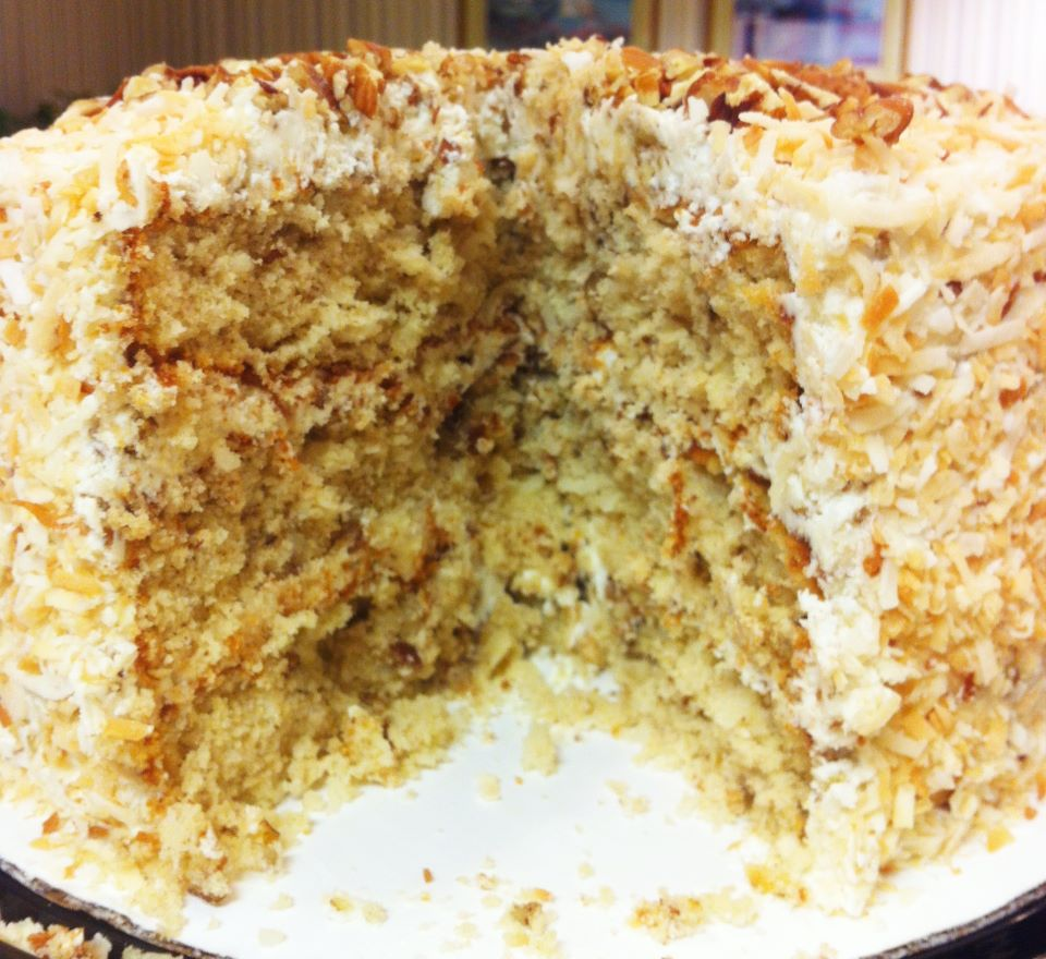 Italian Creme Cake From A Mix