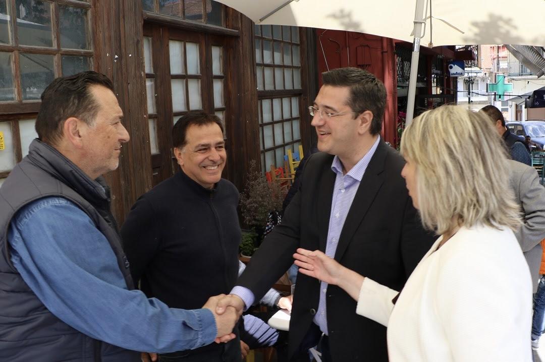 Επίσκεψη του επικεφαλής της περιφερειακής παράταξης «Αλληλεγγύη», Περιφερειάρχη Κεντρικής Μακεδονίας, Απόστολου Τζιτζικώστα στη Βόρεια Χαλκιδική