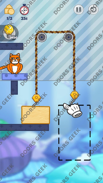 Hello Cats Level 84 Solution, Cheats, Walkthrough 3 Stars for Android and iOS