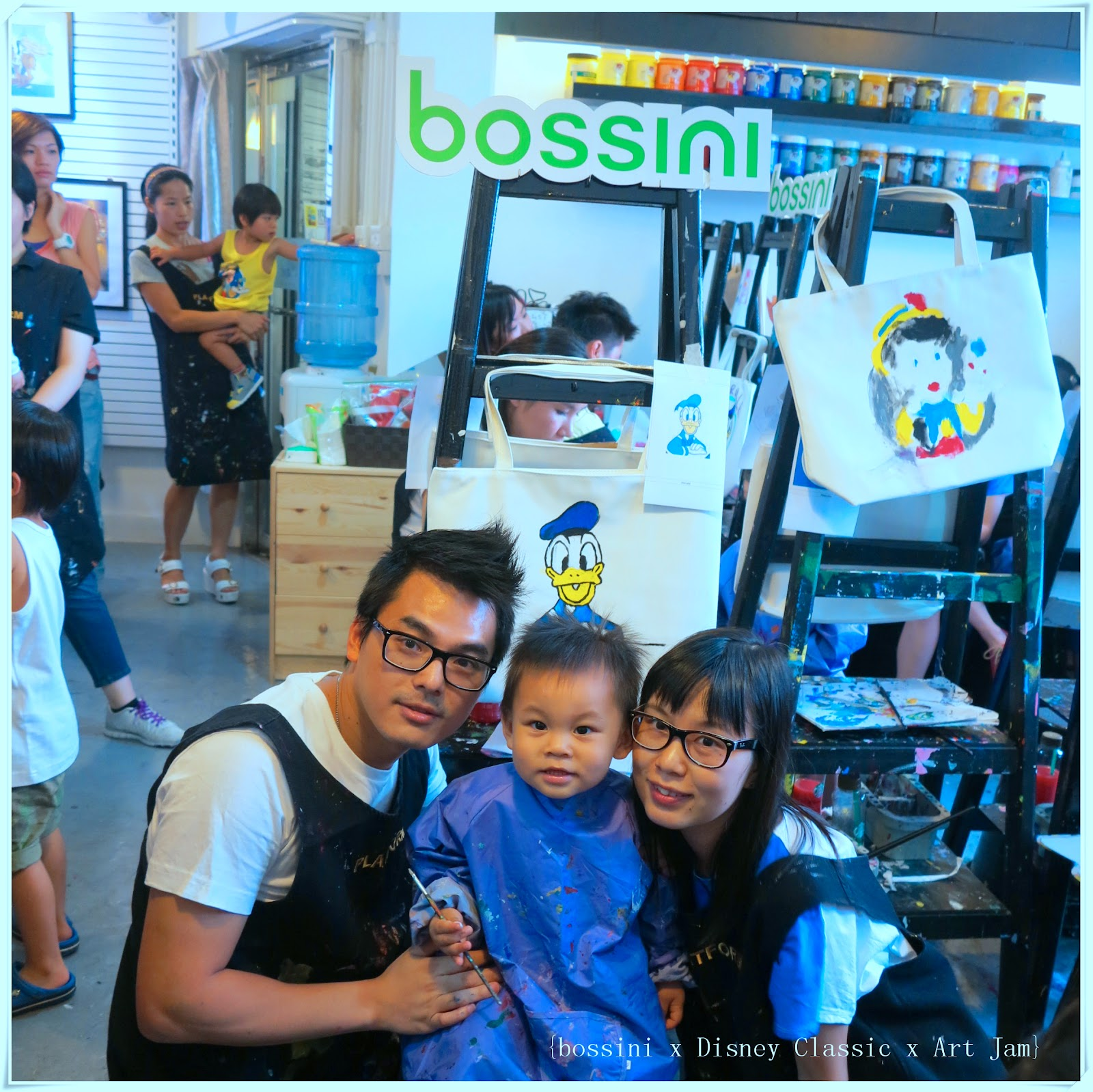 國皇的婚禮: bossini x Disney Classic Collection Art Jam Blogger Gathering