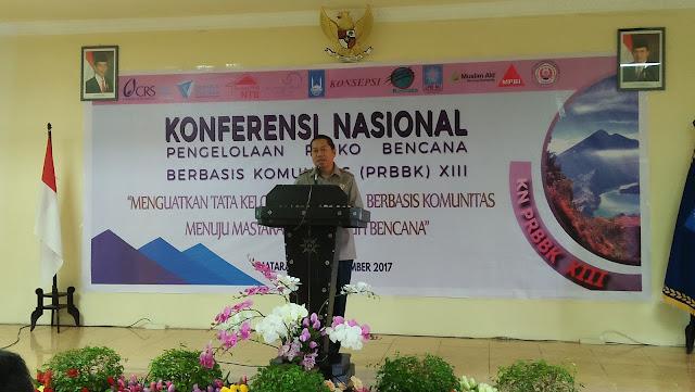 Bahas Tanggap Bencana BPBD NTB jadi Tuan Rumah Konferensi PRBBK XIII
