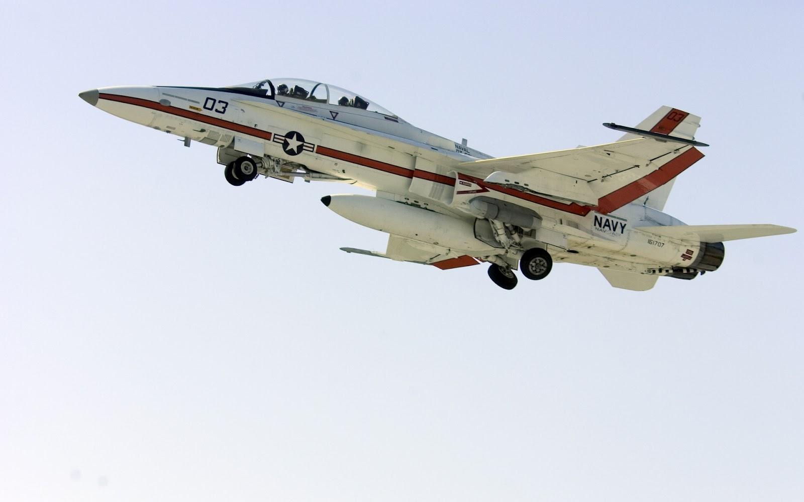 F-18 Avión De Combate