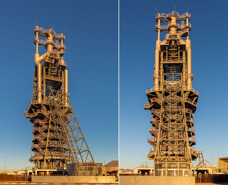 Tower Credit Union >> The Historic Blast Furnace at The Port of Sagunto | Amusing Planet