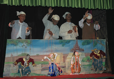 More Than Just Entertainment: Myanmar's Marionettes