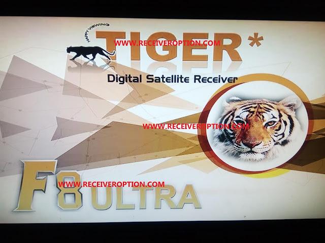 TIGER F8 ULTRA HD RECEIVER BISS KEY OPTION