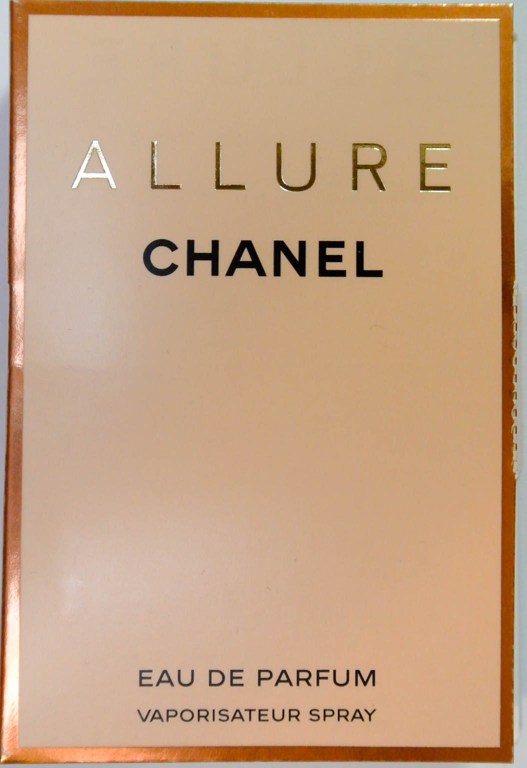 Connoisseur De Parfum September 2013 Vial Tester All Varian Double Review Chanel Allure Eau And
