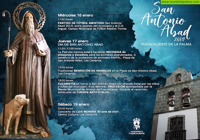 Fuencaliente celebra esta semana la festividad de San Antonio Abad