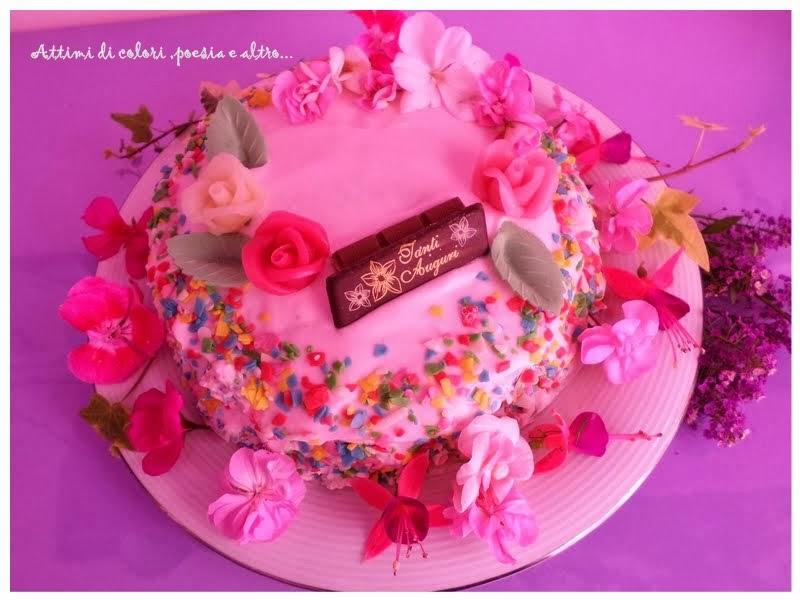 Molto Attimi di colori, poesia e altro: Torta di compleanno DA59