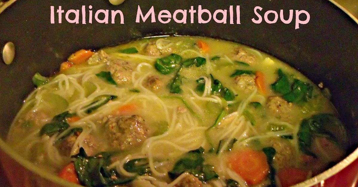 Bountiful Love: Italian Meatball Soup