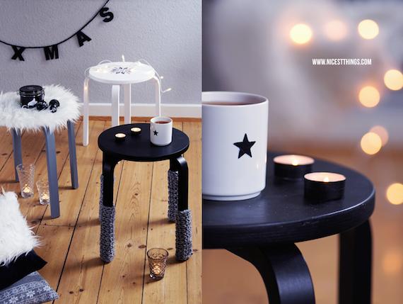 Ikea Hack taburete Frosta