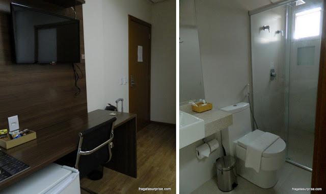 Apartamento do Hotel Mohave, Campo Grande, Mato Grosso do Sul