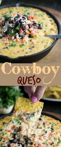 Cowboy Queso Recípe Easy Recípe