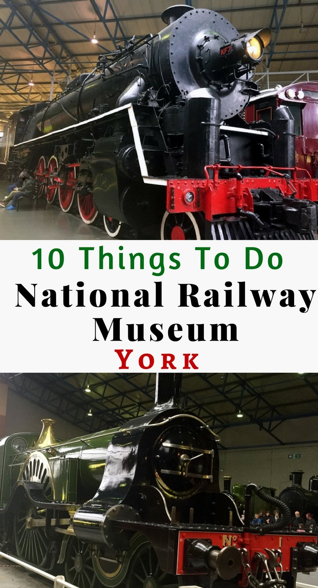 The National Railway Museum (NRM) in York makes for a fantastic day our for all the family. It is located just outside York railway station and offers free entry. We spent an entire day exploring the NRM. Here are our top 10 things to do at The National Railway Museum, York.