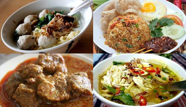 10 Makanan Indonesia Paling Popular di Dunia
