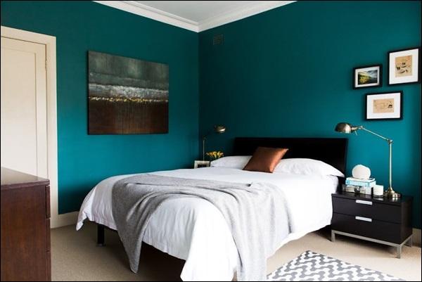 quarto de menino com cor verde