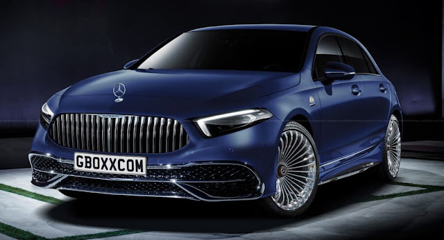 Maybach, Mercedes, Mercedes A-Class, Mercedes-Maybach, Renderings