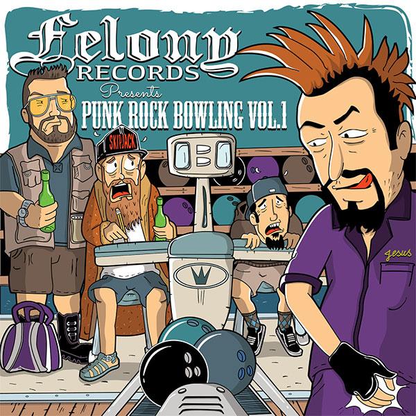 "Felony Records release new compilation ""Felony Records Punk Rock Bowling 2016"""