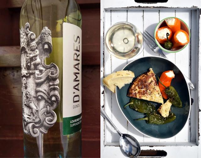 Vinho Verde mit Tortilla