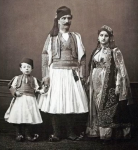 Albanian Folk clothing photo of 1873