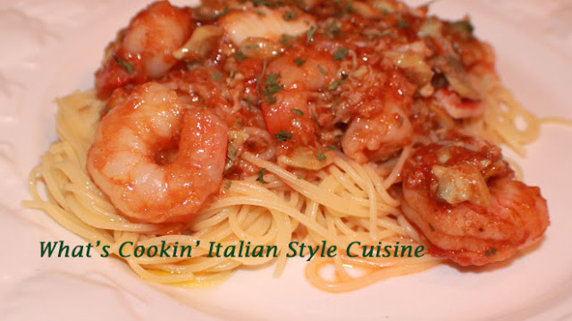 Seafood Marinara Sauce Medley With Angel Hair Pasta Recipe What S