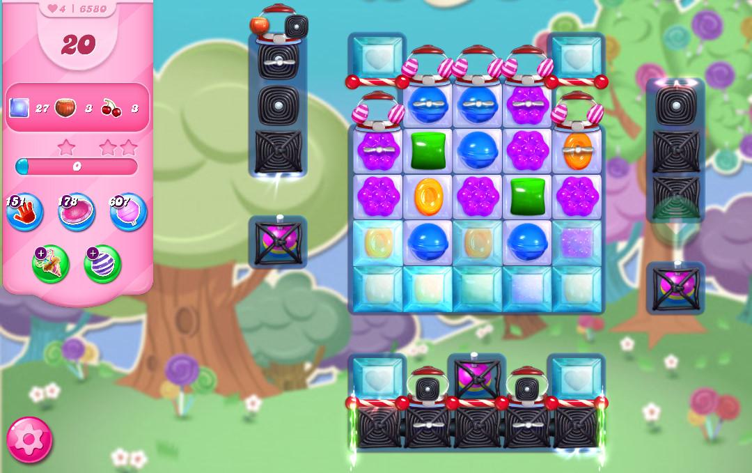 Candy Crush Saga level 6580
