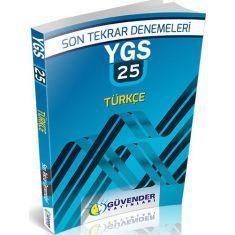 Güvender YGS 25x40 Türkçe Son Tekrar Denemeleri
